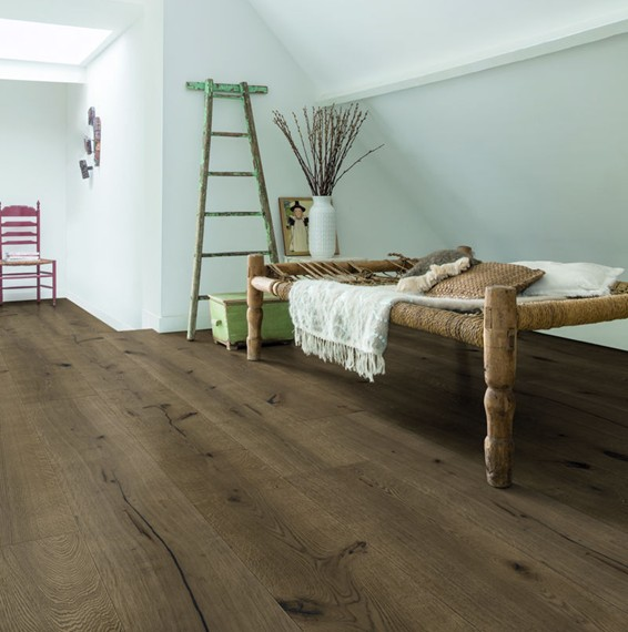 dark chocolate oak extra matt oiled mas3564 quick step. Black Bedroom Furniture Sets. Home Design Ideas