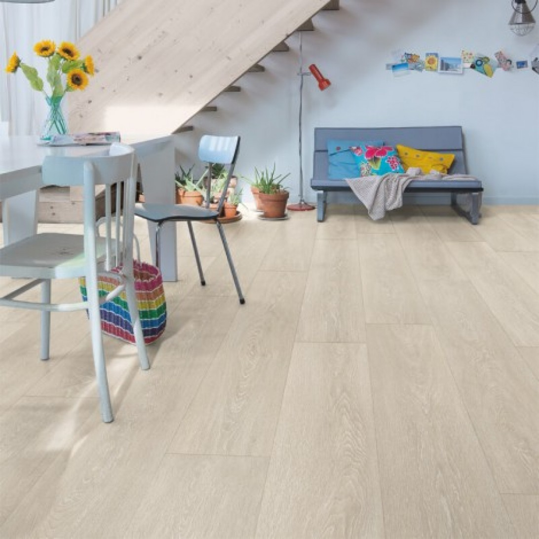 Quick Step Laminate | Majestic | Valley Oak Light Beige MJ3554