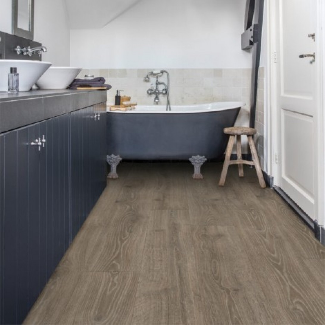 Woodland oak brown mj3548 quick step laminate for Quick step laminate flooring
