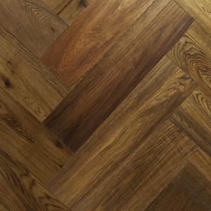 Smoked Brushed & Matt Lacquered Herringbone