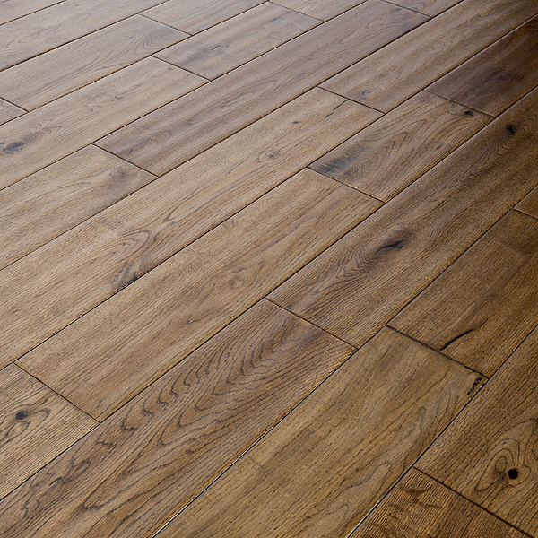 ... Wood 150mm Golden Oak Lacquered U0026 Handscraped. Engineered Golden Oak