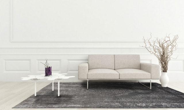 Grey Neutural 8639 | Louis de Poortere Generation Collection Rug | Best at Flooring