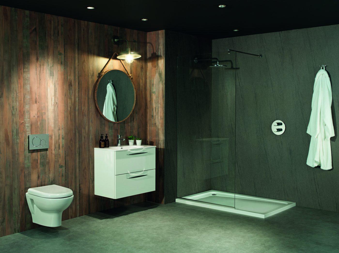 Toilet Beton Cire : Beton cire aq aqua step r waterproof laminate best at