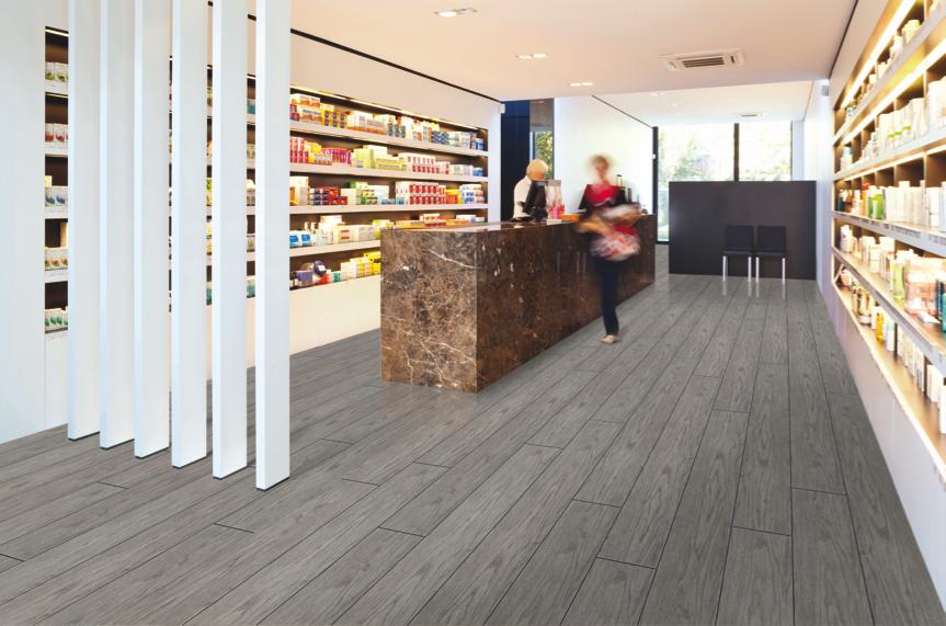 Oak Grey Aq208 Aqua Step R9 Waterproof Laminate Best At Flooring