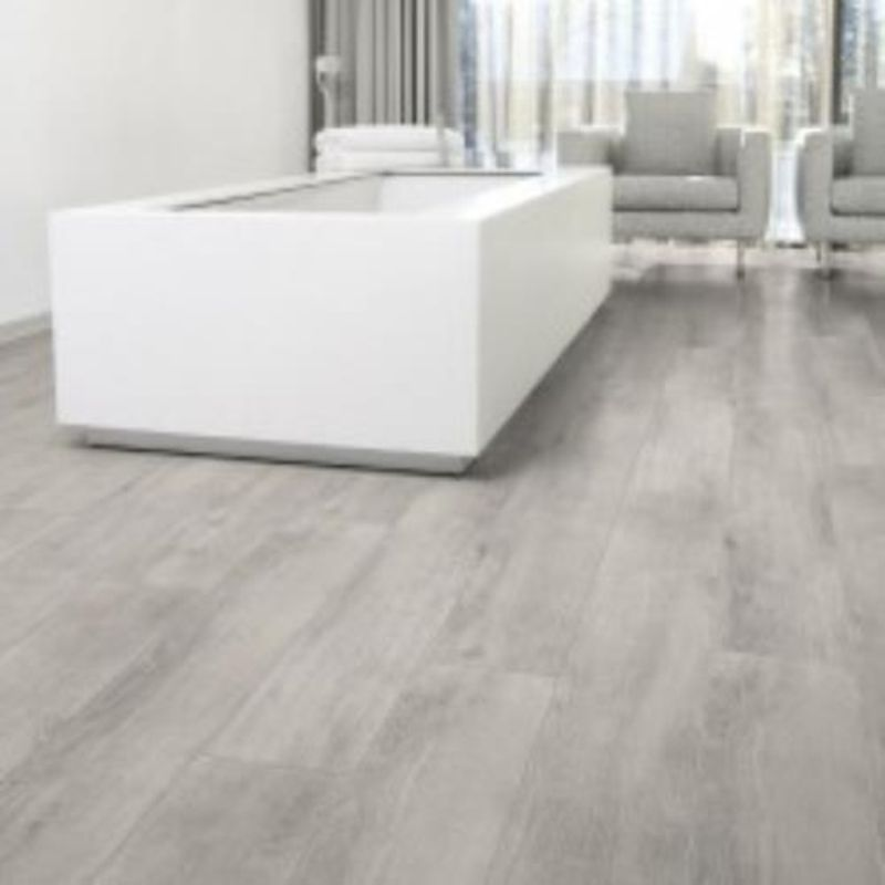 Oak grey aq226 aqua step r9 waterproof laminate best for Grey bathroom laminate flooring