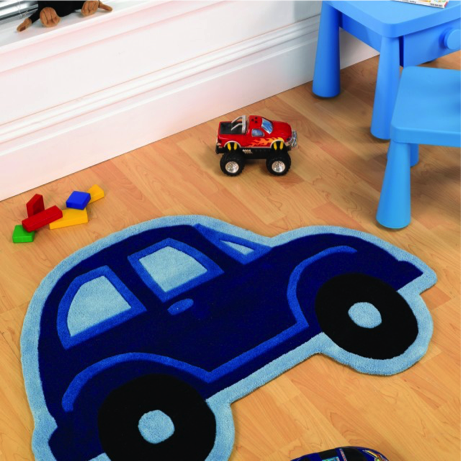 Car Boy Flair Rug