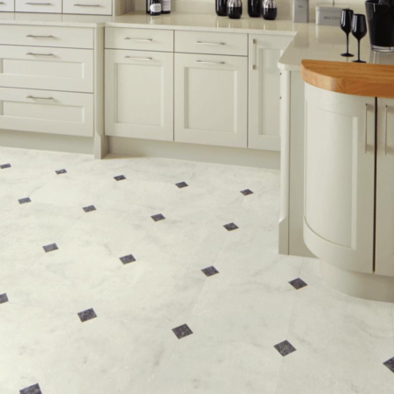 Luxury Vinyl Tiles with Bathrooms