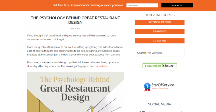 Ambient Design Group Home Web Page