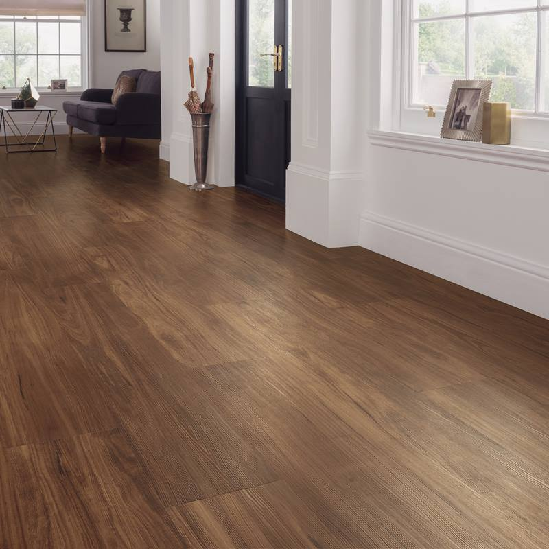 Llp315 character walnut karndean looselay longboard for Pvc hardwood flooring