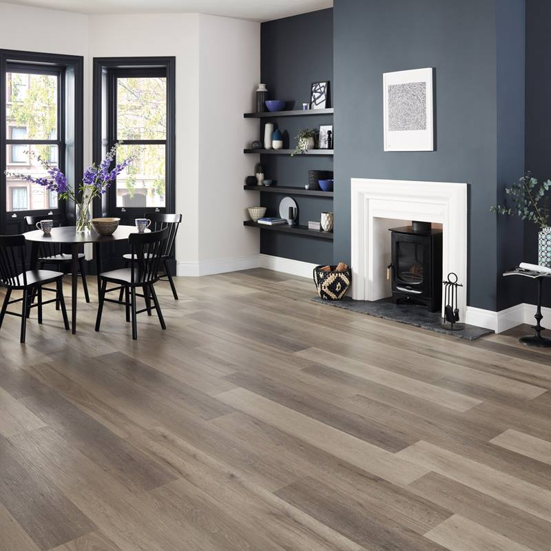Washed Grey Ash LVT | Best at Flooring