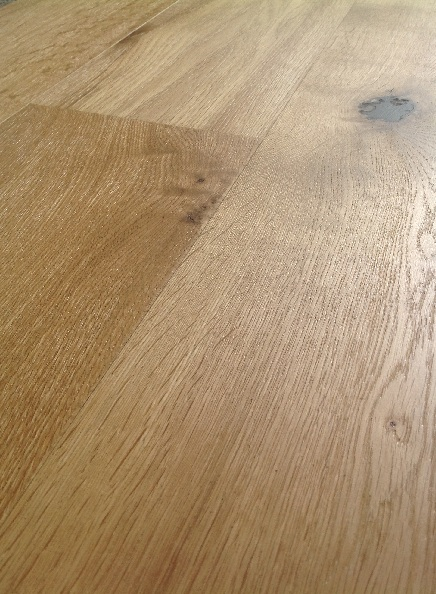 10mm HDF Brushed & Lacquered Wood Flooring 3