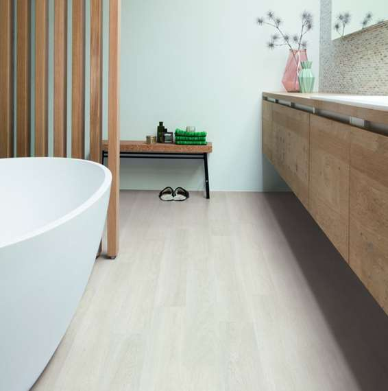 Quick Step Laminate | Eligna | Estate Oak Light Grey EL3573