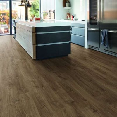 Quick Step Laminate | Eligna | Newcastle Oak Brown EL3582