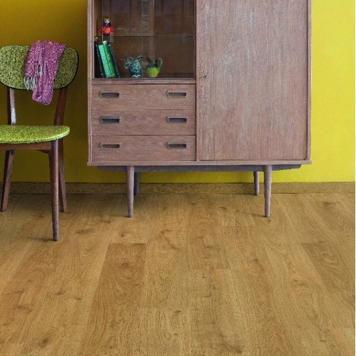 Quick Step Laminate | Eligna | White Oak Light Natural EL1491