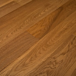 10mm HDF Golden Lacquered & Handscraped Wood Flooring