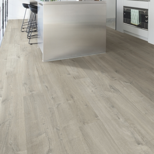 Soft oak grey im3558 quick step laminate best at flooring for Quickstep kitchen flooring