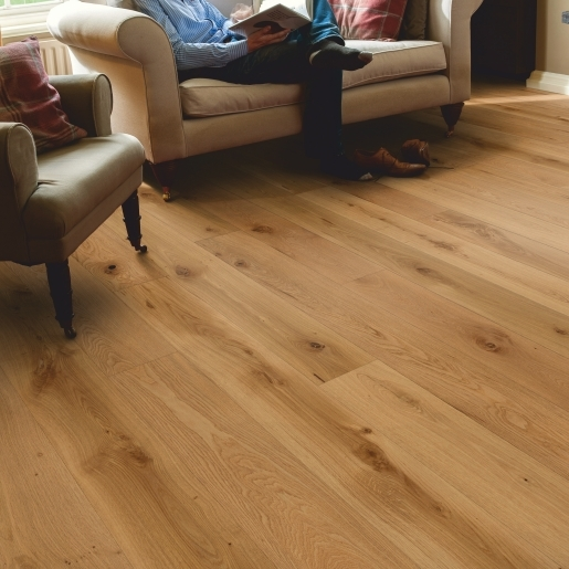 1-Strip Rustic Brushed & Oiled Oak | Elka 14mm Engineered Wood | Bestat Flooring