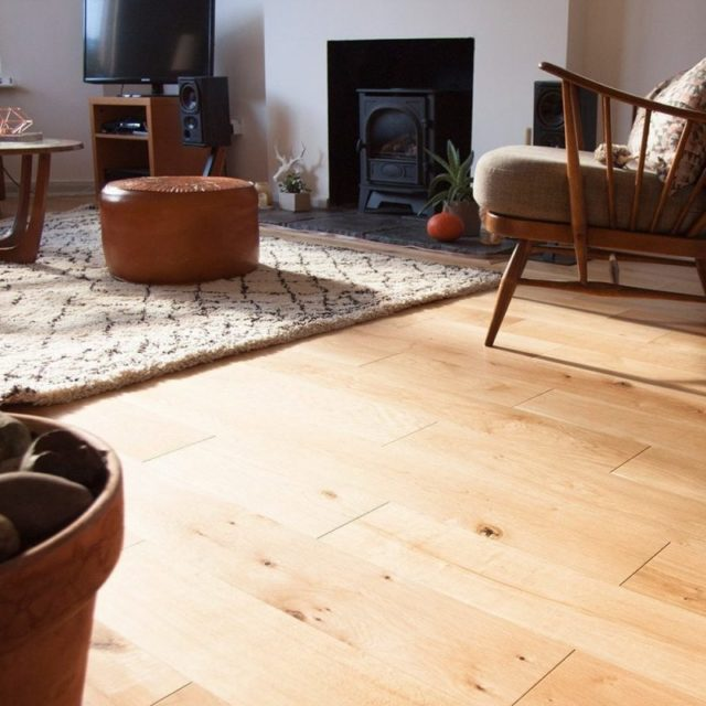 Oak Rustic Oiled 102 - Vittoria | Room View