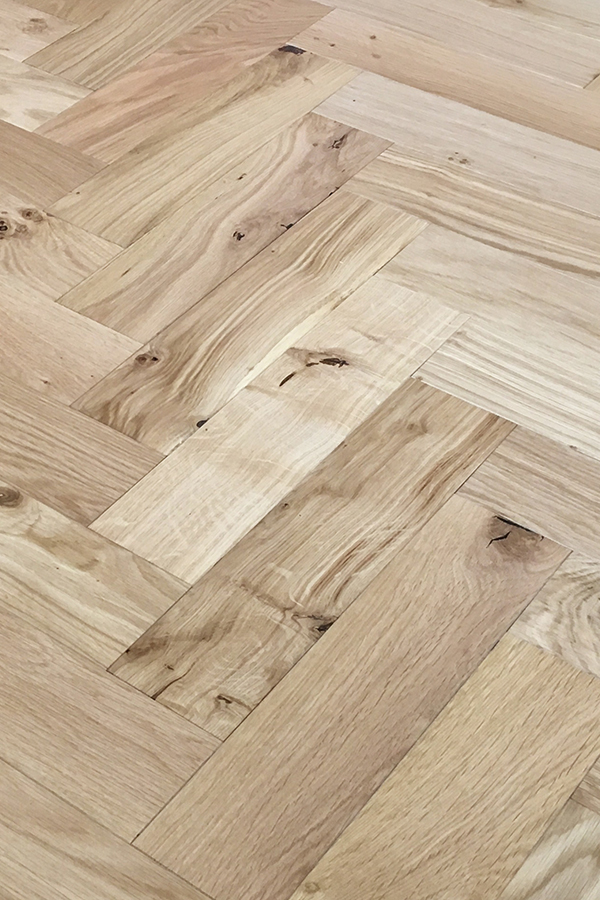 Oak Brushed & Matt Lacquered ZB109   V4 Wood Flooring Zigzag   Best at Flooring