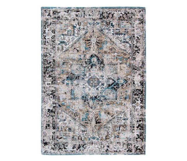 Golden Horn Beige 8708 rug by Louis de Poortere from the Antiquarian Heriz Collection
