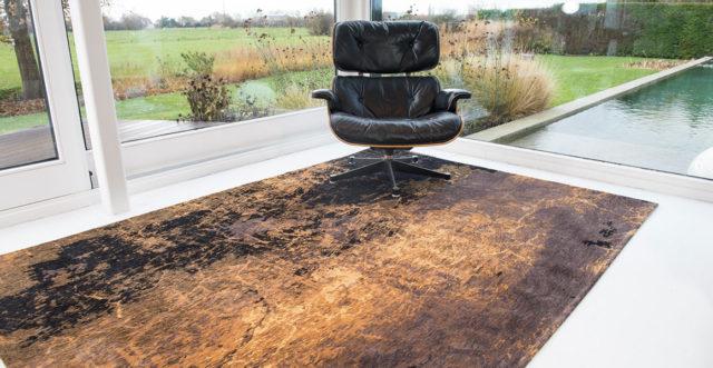 Deep Mine 8618   Louis de Poortere Rugs Mad Men Cracks   Best at Flooring