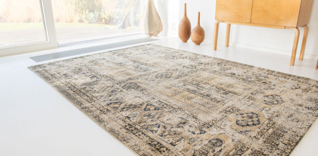 Agha Old Gold 8720 | Louis de Poortere Rugs | Best at Flooring