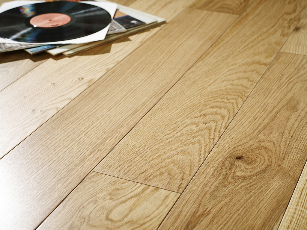 150mm Lacquered Oak Chene Engineered Engineered Best