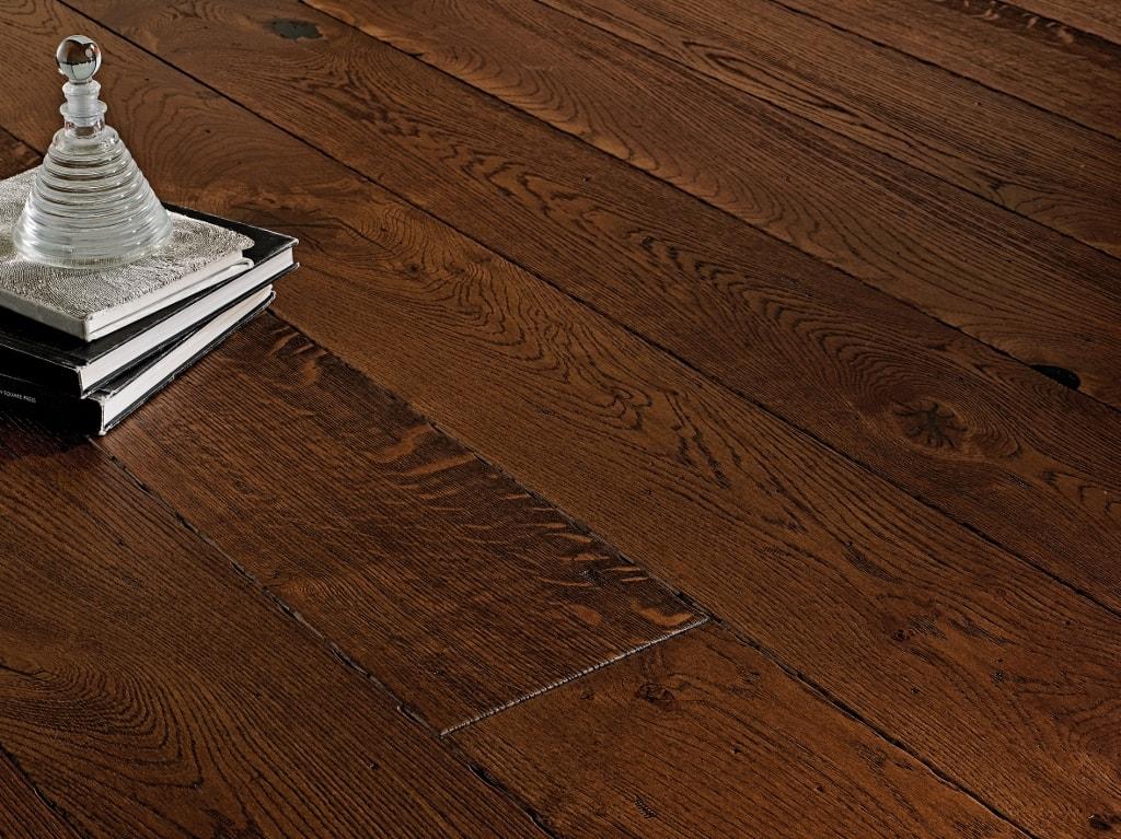 190mm Antique Coffee Oak Engineered Wood Flooring Best