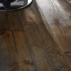 220m Antique Distressed Smoked Oak