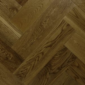 150mm Antique Golden Lacquered Oak Click