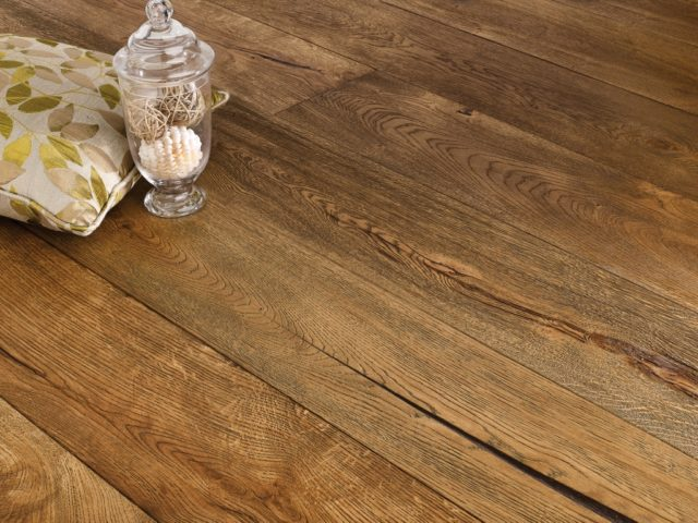Antique Distressed Golden Oak