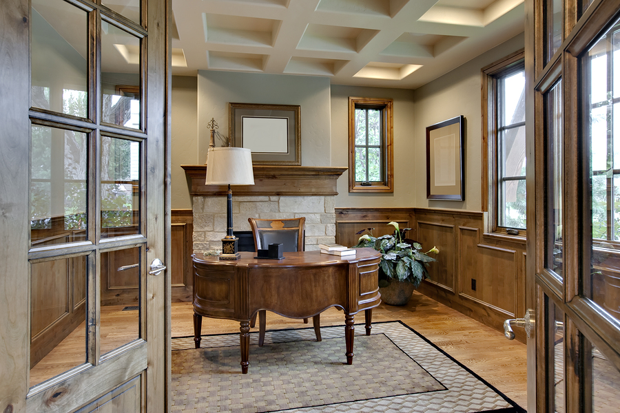 How to create the perfect home office or study for Best flooring for home office