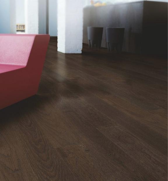 Coffee brown oak matt | Best at Flooring