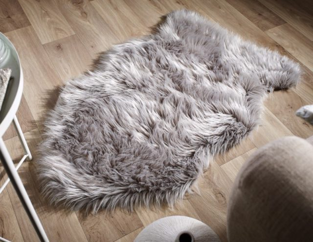 Faux Fur Grey