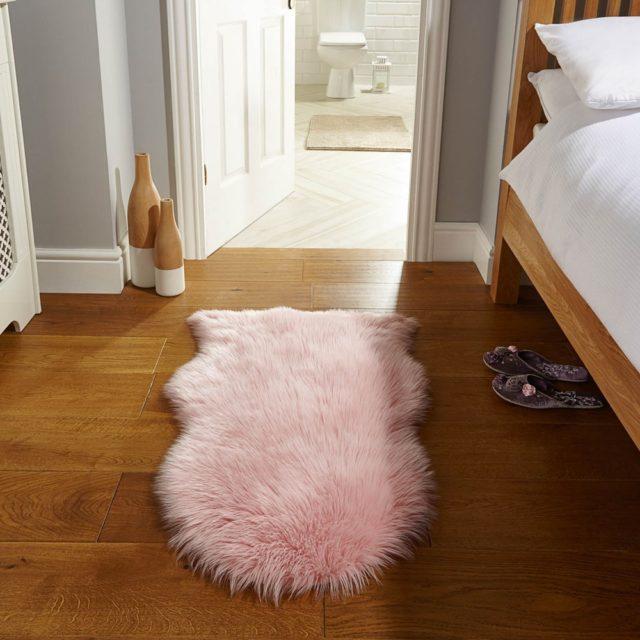 Faux Fur Pink