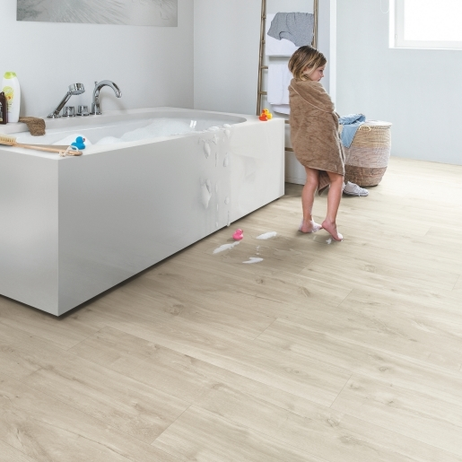Quick Step Livyn Rigid Balance Click V4 - Canyon Oak Beige RBAC40038 - Room Set