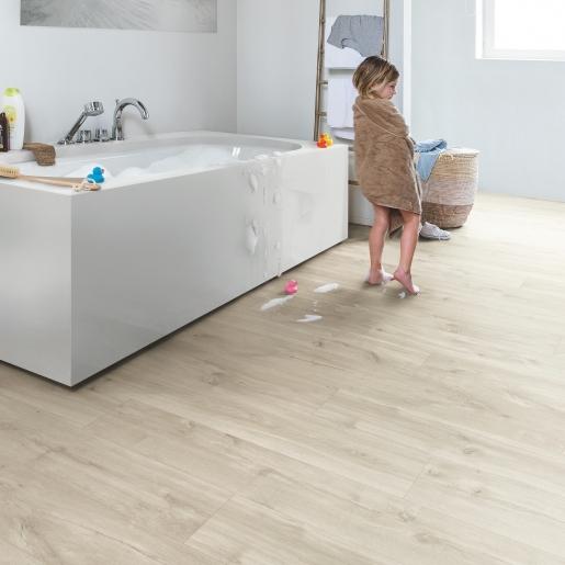Quick Step Livyn Rigid Balance Click V4 - Canyon Oak Beige RBAC40038 - Room Set