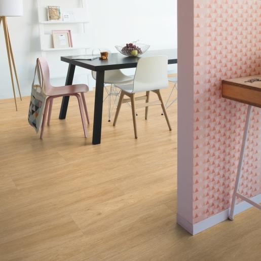 Quick-step Rigid Balance Click V4 Silk Oak Warm Natural - RBACL40130 - Room Set