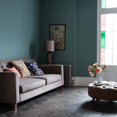 Amtico Living Room | Best at Flooring