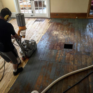 sanding wooden flooring | Best at Flooring