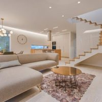 open plan wooden stairs | Best at Flooring