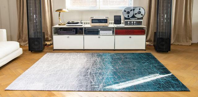 Polar Vortex 8877   Louis de Poortere Mad Men Fahrenheit Rugs   Best at Flooring