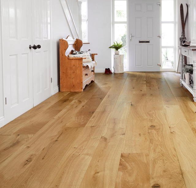 20mm Brushed & Matt Lacquered Oak - Engineered   Best at Flooring
