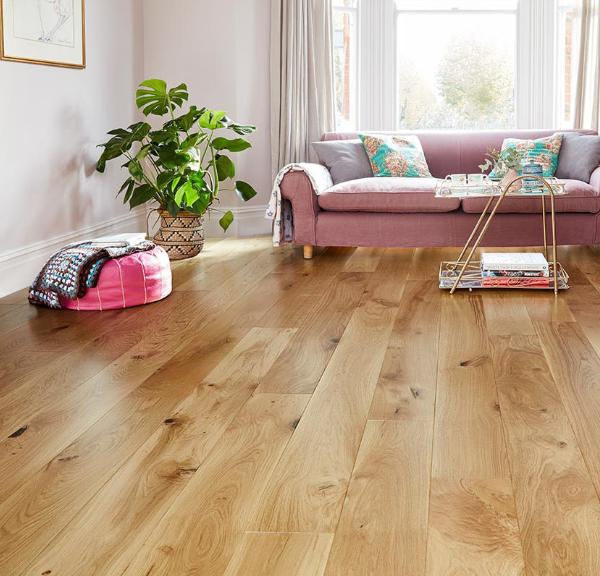 20mm Brushed Oiled Oak - Engineered | Best at Flooring