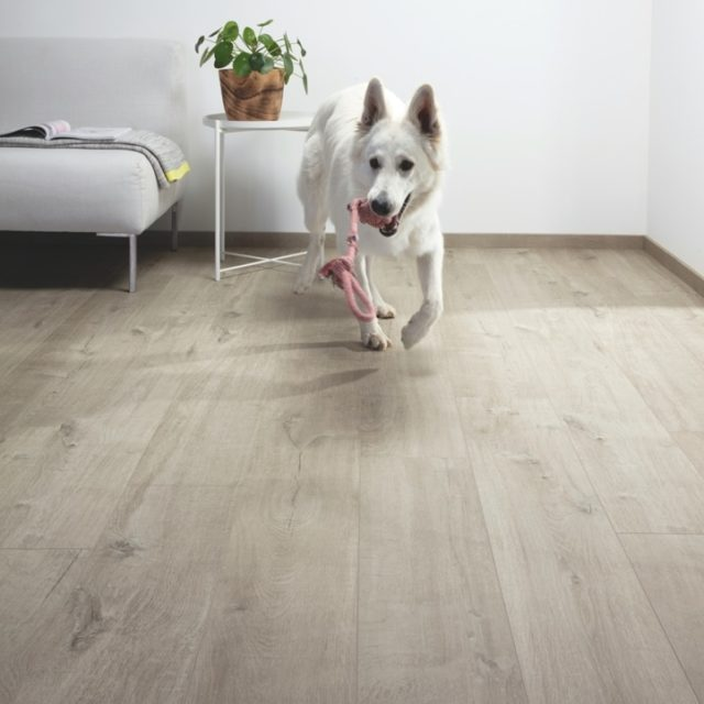 Quick-Step Livyn Pure Cotton Oak Warm Grey PUGP40105 | BestatFlooring