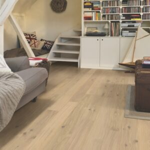 Quick-Step Compact Oak Cotton White Matt COM1451