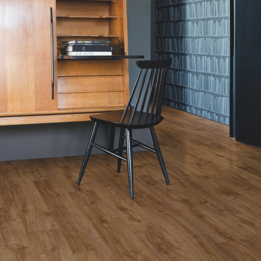 Quick-Step Alpha Vinyl Autumn Oak Brown AVMP40090 | Best at Flooring
