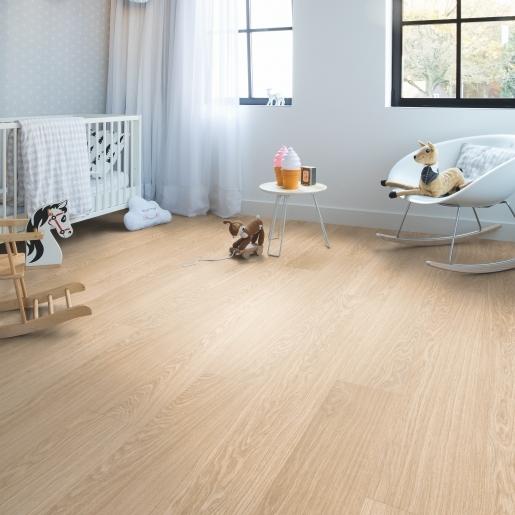 Quick-Step Alpha Vinyl Pure Oak Blush AVMP40097 | Best at Flooring