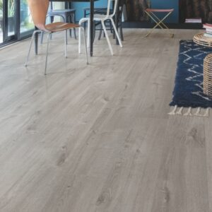 Quick-Step Alpha Cotton Oak Cozy Grey AVMP40202 | Best at Flooring