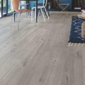 Quick-Step Alpha Cotton Oak Cozy Grey AVMP40202 | Best at Flooring